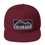 Colorado 80's 90's Mountains Classic Snapback Hat