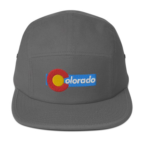 Colorado Retro Five Panel Cap