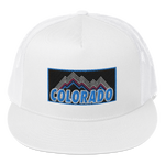 Colorado Mountain Retro Design Colorado Underground Trucker Cap