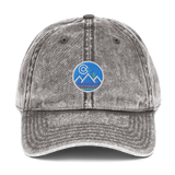 Colorado Landscape Retro Vintage Cotton Twill Cap