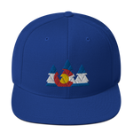 Colorado Flag Forest Classic Snapback Hat