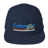 Colorado Retro Mountain Classic Five Panel Cap