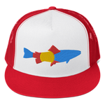 Colorado Trout Classic Flat Bill Trucker Cap