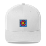 Colorado Box Flag Retro Trucker Cap