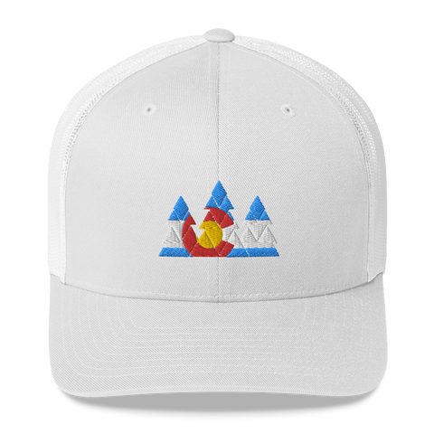Colorado Forest Retro Trucker Cap