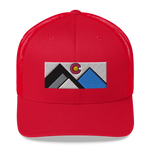 Colorado Geometric Mountains Trucker Cap