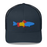 Colorado Trout Flag Retro Trucker Cap