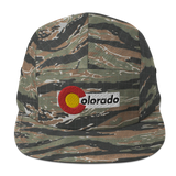Colorado Flag Cycling Five Panel Cap