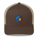 Colorado Trout Retro Trucker Cap