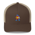 Bigfoot Colorado Retro Trucker Cap