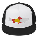 Colorado River Trout Classic Flat Bill Trucker Hat