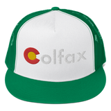 Colorado Colfax Classic Flat Bill Trucker Cap
