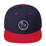Colorado Throwback Mountains Classic Snapback Hat
