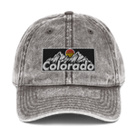 Colorado Retro Vintage Design Vintage Cotton Twill Cap