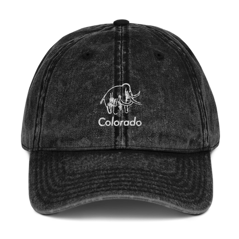 Colorado Mammoth Classic Vintage Cotton Twill Cap
