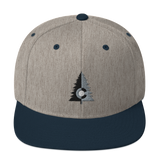 Two Tone Colorado Tree Classic Snapback Hat