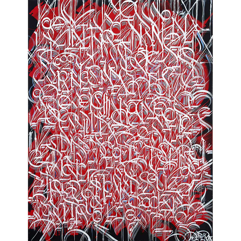 Text in Red by Defer | DFR10003