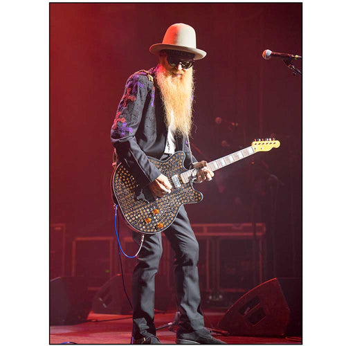 Billy Gibbons - Red by Tracy Anne Hart | TAH10003