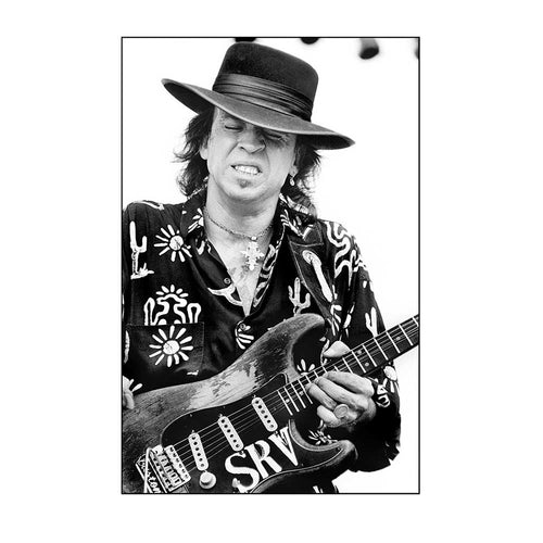 Stevie Ray Vaughn (SRV) by Tracy Anne Hart | TAH10005