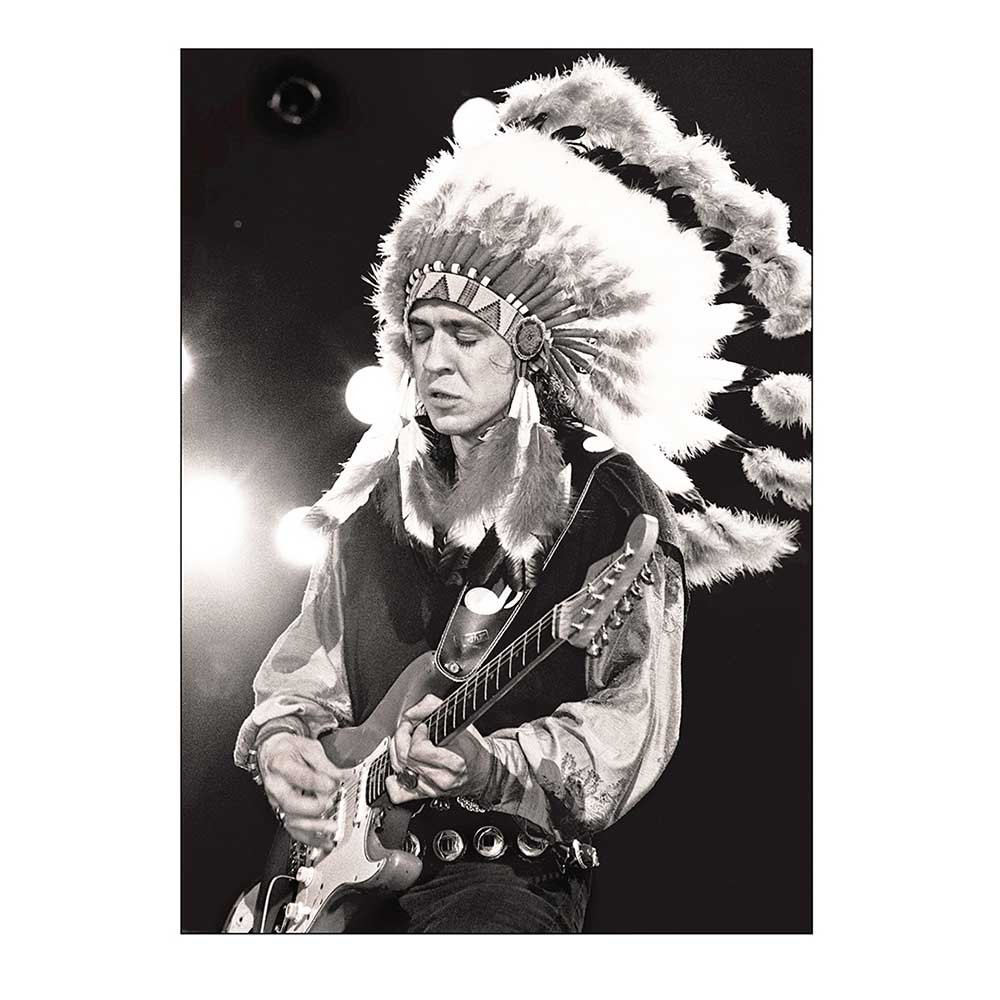 """Head Dress"" Stevie Ray Vaughan by Tracy Anne Hart 