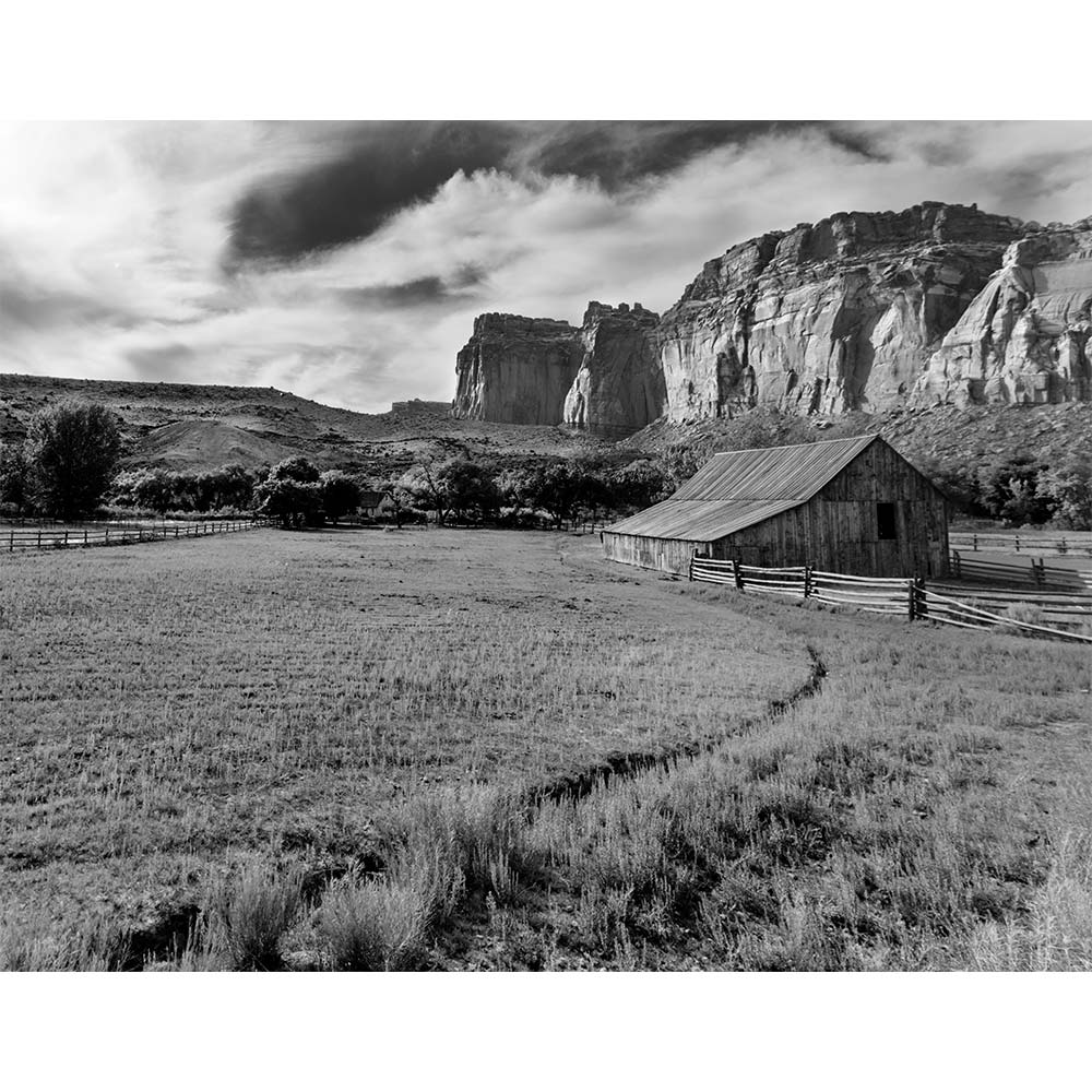 Capitol Reef Barn by Tim Herschbach | TPH10003