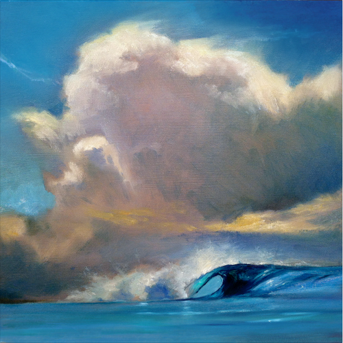 Cloud Wave in Blue by Wade Koniakosky | WTK10005
