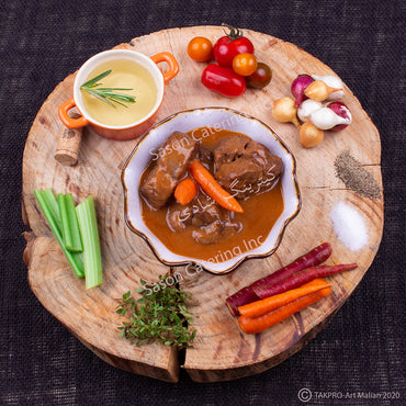 Osso Bucco Style Braised Beef and Sauce