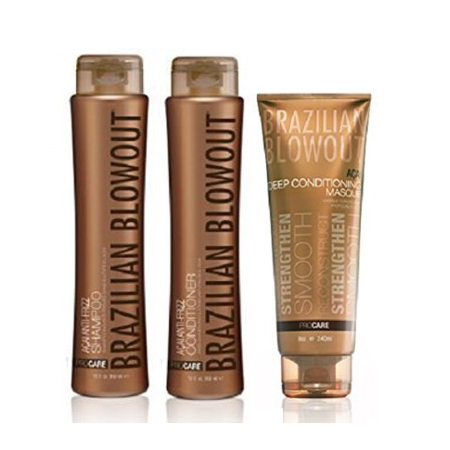 Brazilian Blowout AÇAI ANTI-FRIZZ Bundle