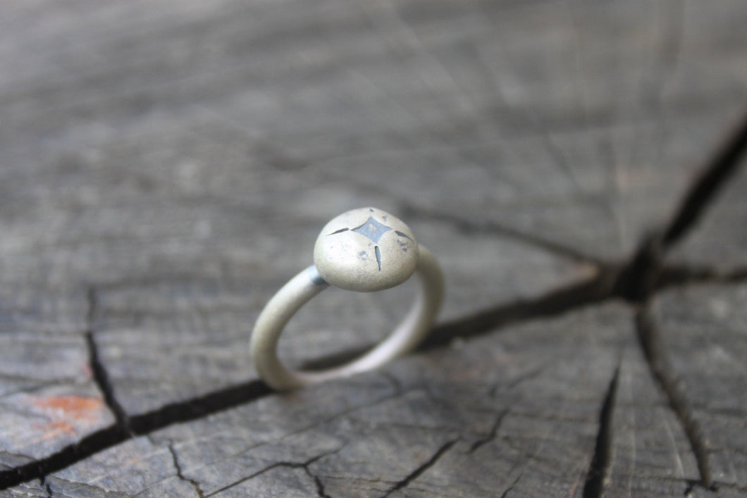 North Star Ring - Peles Song Jewelry