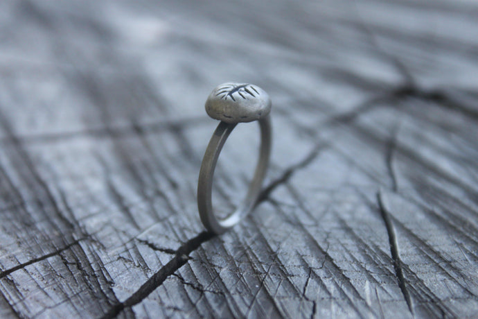 Palm Leaf Ring - Peles Song Jewelry