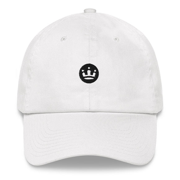 Baseball Cap with black crown logo