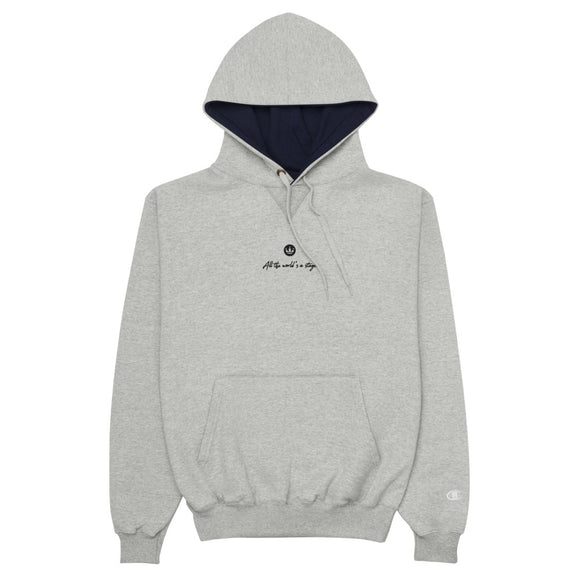 All the World's a Stage Champion Hoodie