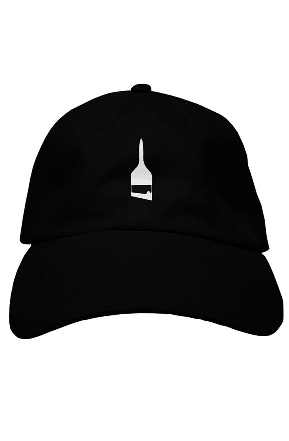 BA premium dad hat Black + white logo