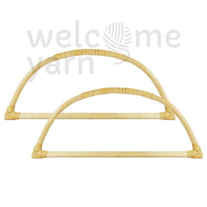 Arch Shaped Thin Bamboo Handles