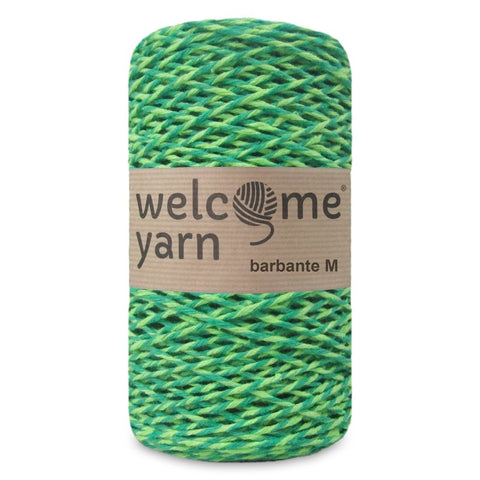 Barbante Yarn Shades of Green