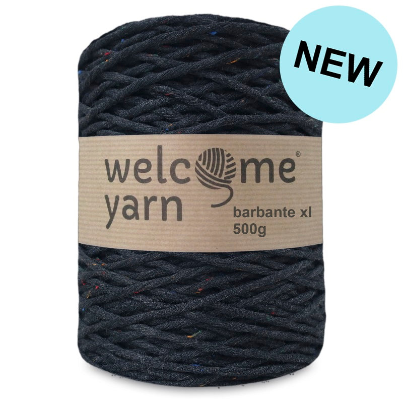 Barbante Yarn XL Mottled Black