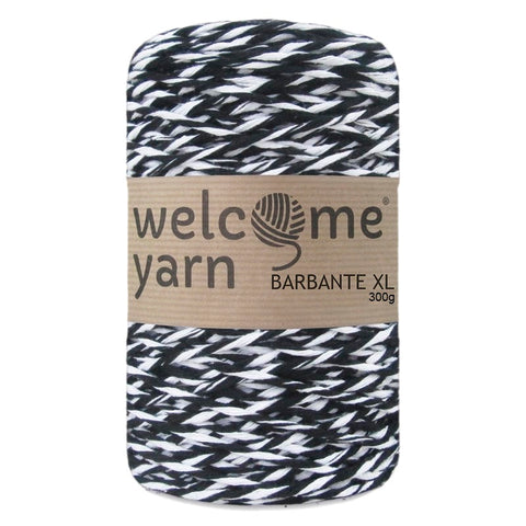Barbante Yarn XL 300g Black and White