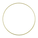Golden Hoop for Macramé Dream Catcher 25cm