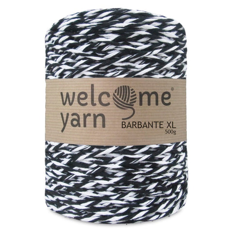 Barbante Yarn XL Black and White