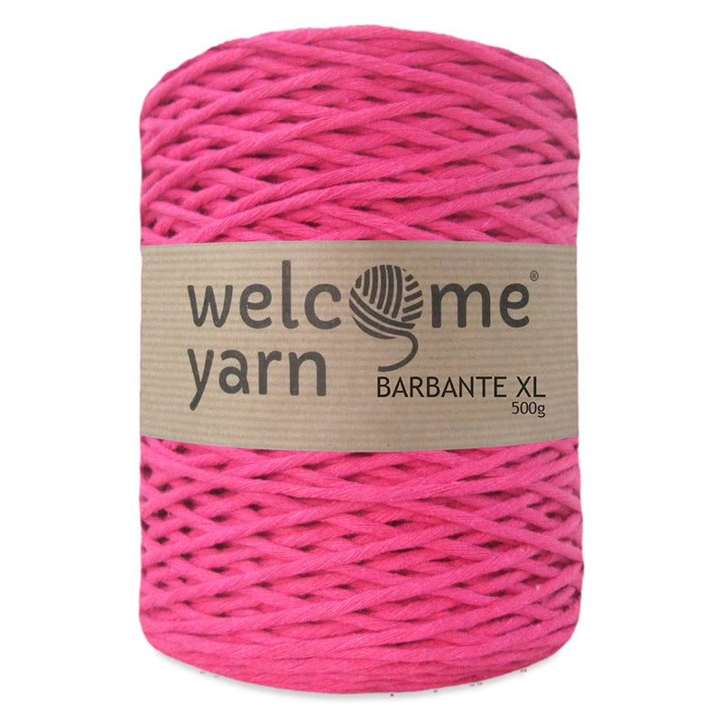 Barbante Yarn XL Fuchsia Pink