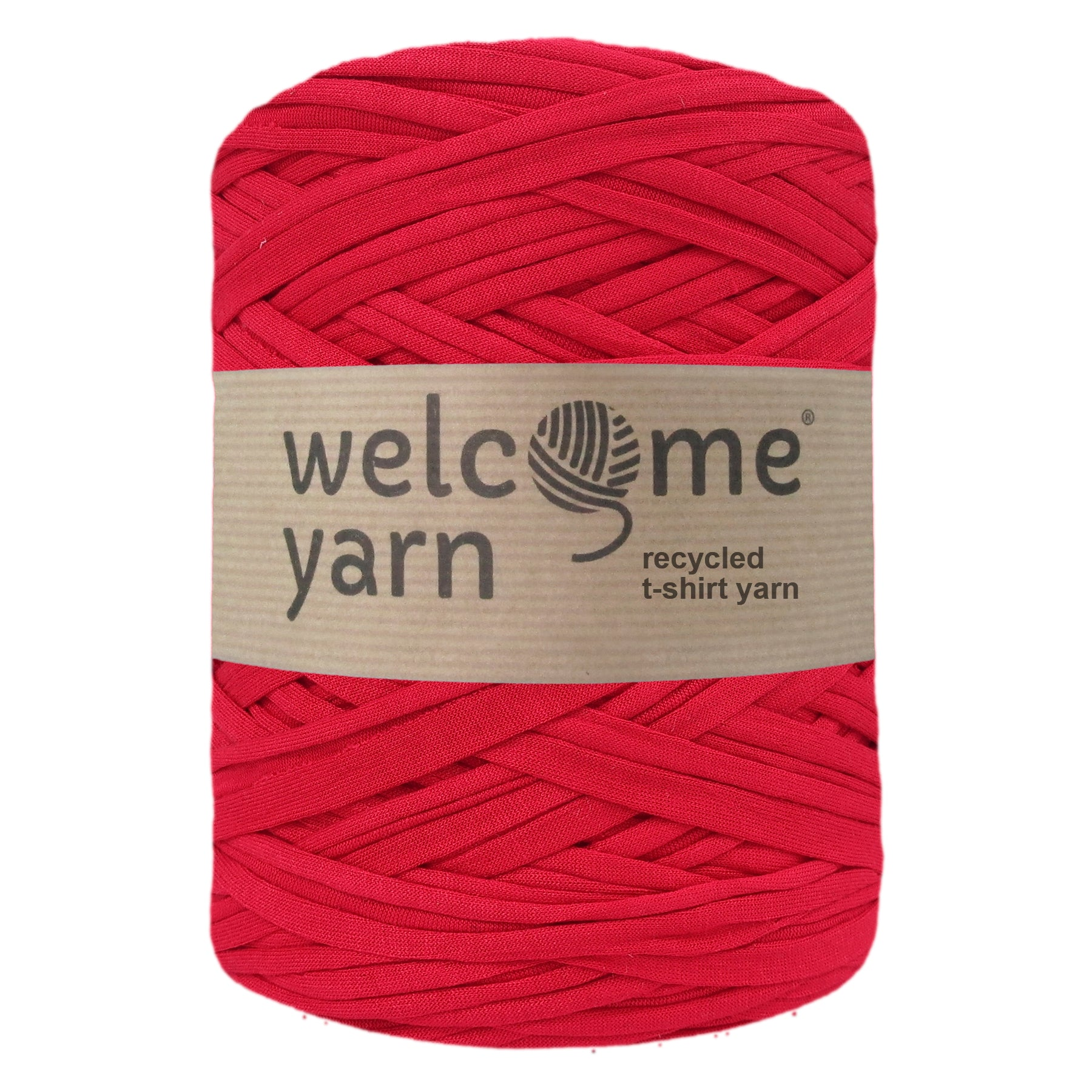 T-shirt Yarn Bright Red