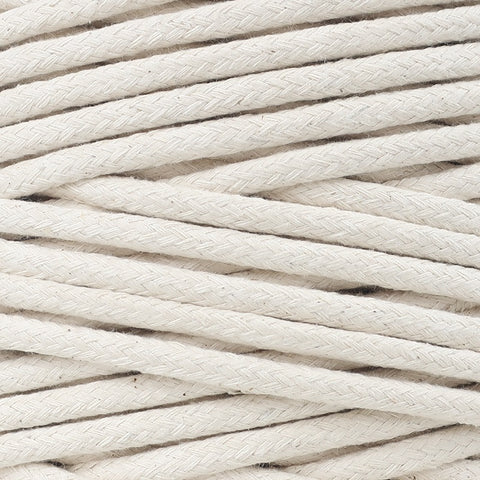 Cotton Cord 6,5mm Natural (sold per meter)