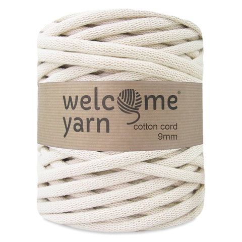 Cotton Cord 9mm Natural