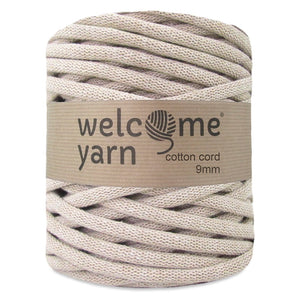 Cotton Cord 9mm Beige