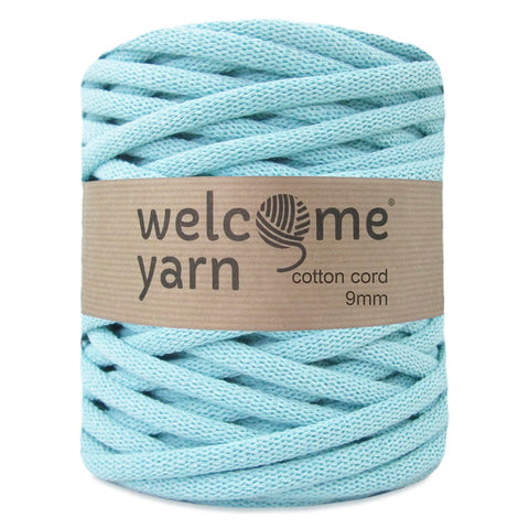 Cotton Cord 9mm Mint Green