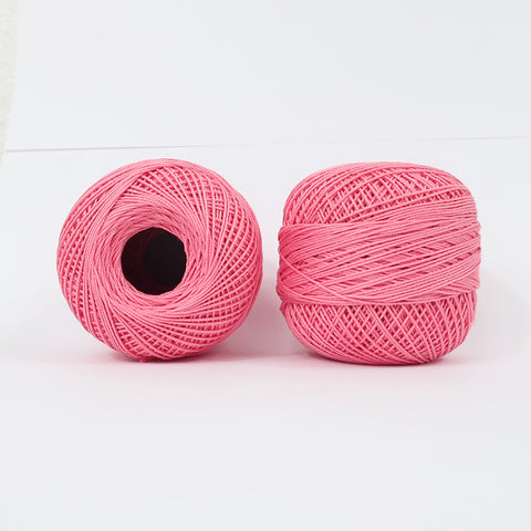 Crochet Thread Coral Pink #08