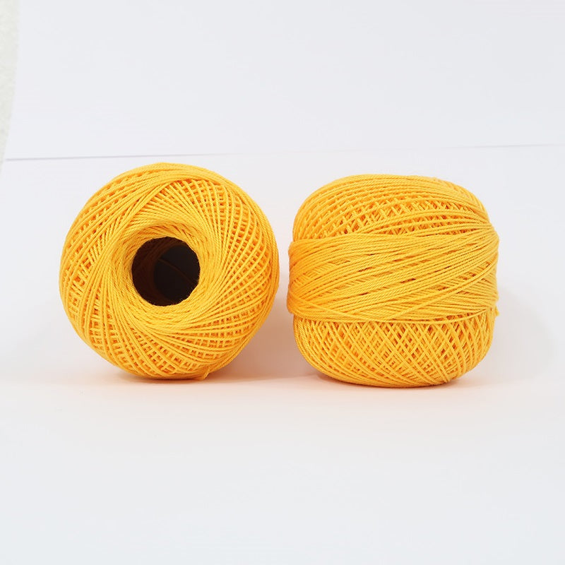 Crochet Thread Bumblebee Yellow #16