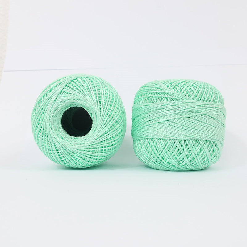 Crochet Thread  Mint Green #21