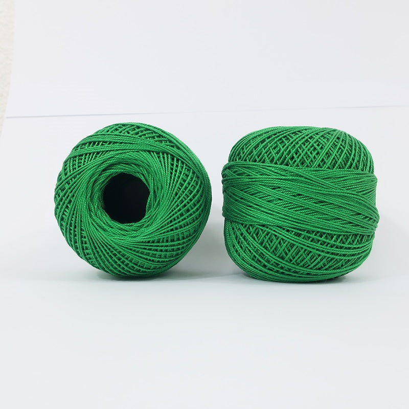 Crochet Thread Emerald Green #24