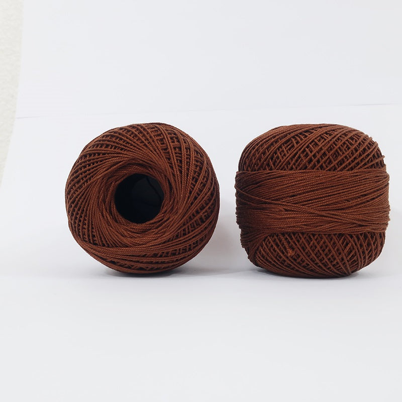 Crochet Thread Chocolate Brown #37